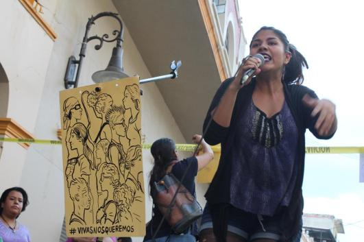 Lírica feminista. Fotografía: CC By-NC Héctor Gaitán.