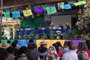 Diversos conversatorios, donde se analizó el proceso de gobierno comunal, se realizaron en el marco del 5to aniversario. Por Xilonen Pérez.