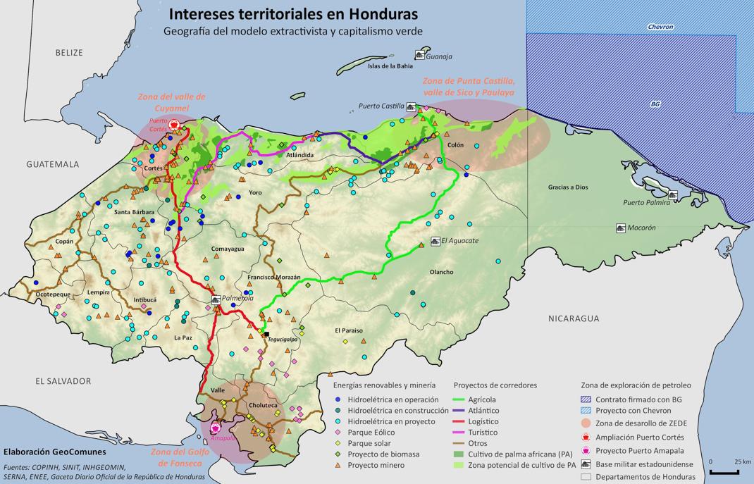 El financiamiento del despojo en Honduras  SubVersiones