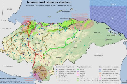El financiamiento del despojo en Honduras