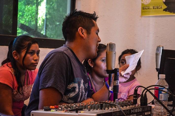 Transmitiendo desde Radio Zapata