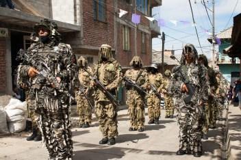 Los Guardabosques, encargados de la seguridad en los linderos del municipio de Cherán. Por Romeo LopCam.