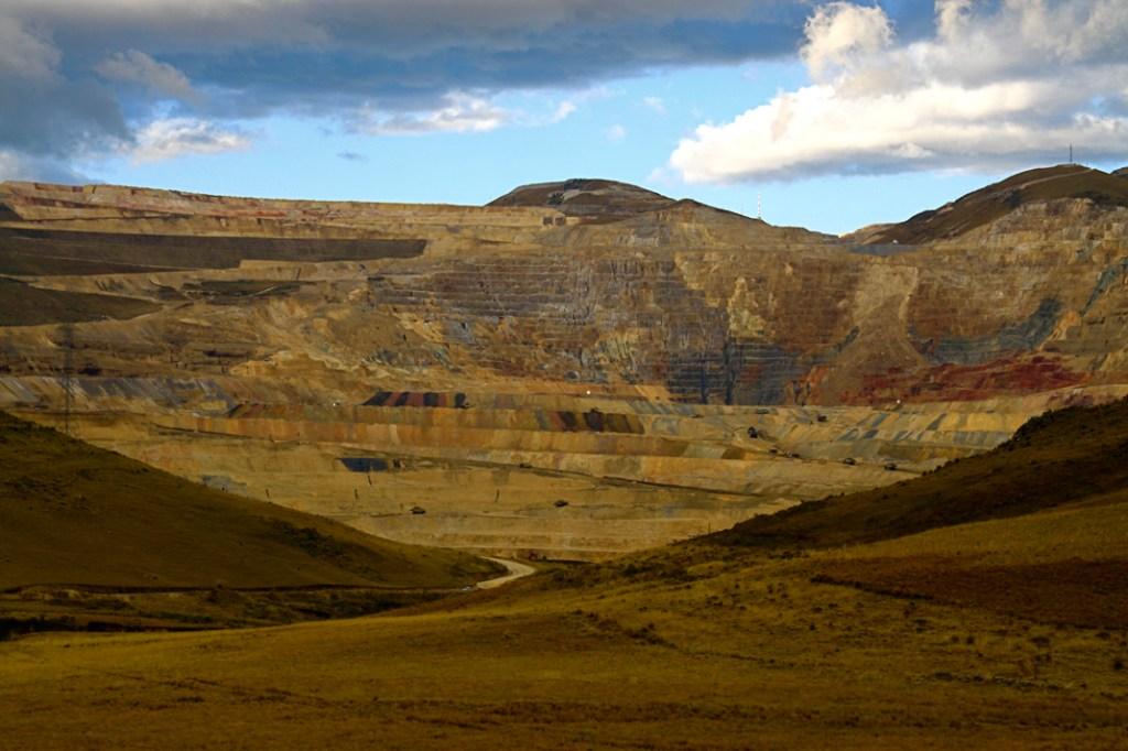 Una parte de la mina Yanacocha, 2013. Foto: Golda Fuentes. Licencia CC BY 2.0.