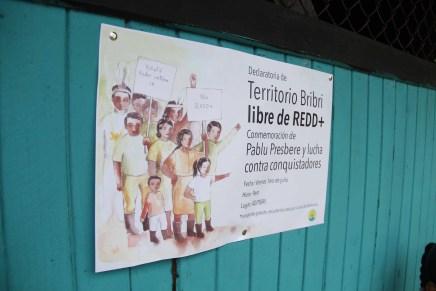 Comunidades bribis en Costa Rica, piden ser territorio libre de REDD+