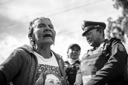 ¡Agua sí, inmobiliarias no!Coyoacán Manantial Aztecas 215