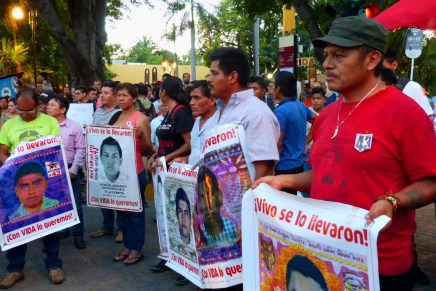 A 33 meses, Mérida recibe a padres y familiares de los 43