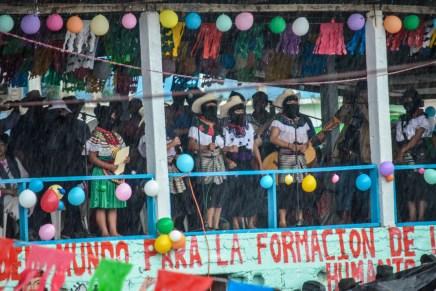 Bienvenidas las mujeres del mundo III: la gira del Concejo Indígena de Gobierno en Chiapas
