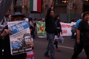 Marcha conmemorativa del 2 de octubre. 2017. Por Elis Monroy-10