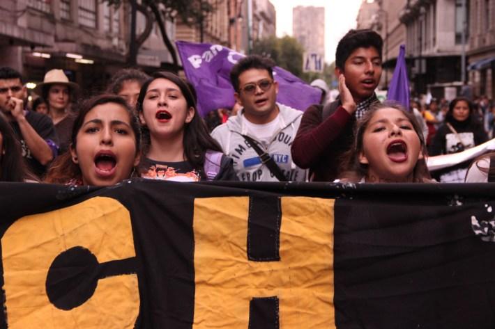 Marcha conmemorativa del 2 de octubre. 2017. Por Elis Monroy-19