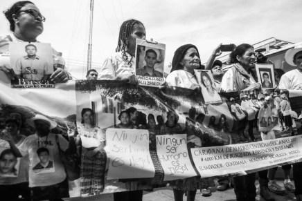 «Lo más importante es el derecho a la verdad». Llega a México la XIII Caravana de Madres Centroaméricanas en busca de sus hijxs migrantes desaparecidxs