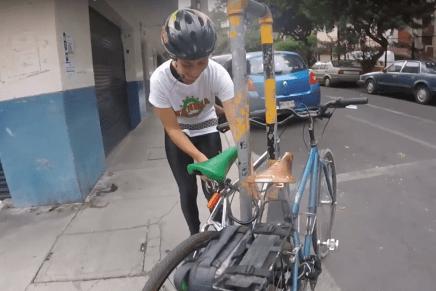 Bicimensajeras: oficio sobre ruedas
