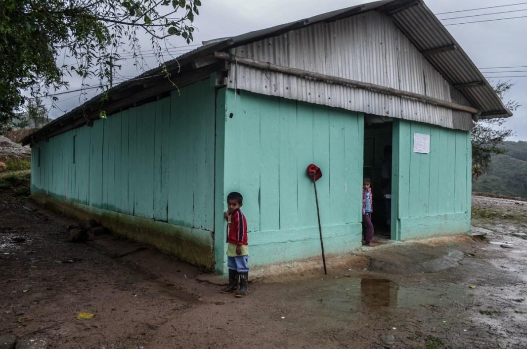 Niños de la región Chinateca, municipio de Santiago Jocotepec. Fotografía: José Luis Santillán