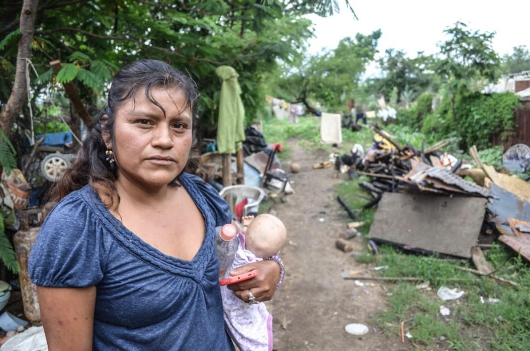 Mayo 2018. Lo que encontramos fue miseria y desolación, los testimonios son demoledores en pleno siglo XXI. Fotografía: José Luis Santillán
