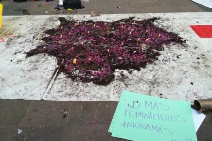 Jornada contra feminicidios en Tepoztlán