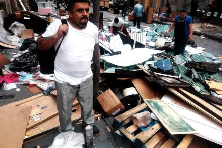 Desalojan a habitantes de Mesones 67 sin aviso previo