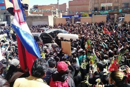 Bolivia: el Mayo de Jonathan, asesinado por la policía en El Alto