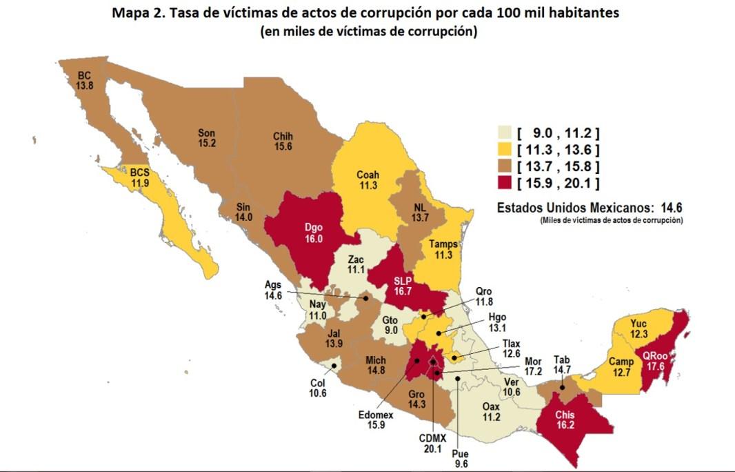 INEGI ENCUESTA NACIONAL DE CALIDAD REGULATORIA E IMPACTO GUBERNAMENTAL EN EMPRESAS (ENCRIGE) 2018.