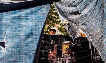 Vecino en el predio de Londres #7 y Roma #18 en la colonia Juárez, desalojado por el juzgado 39 penal.