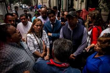 Vecinos hablan con Evangelina Hernández Duarte, Titular de la SEDEREC.