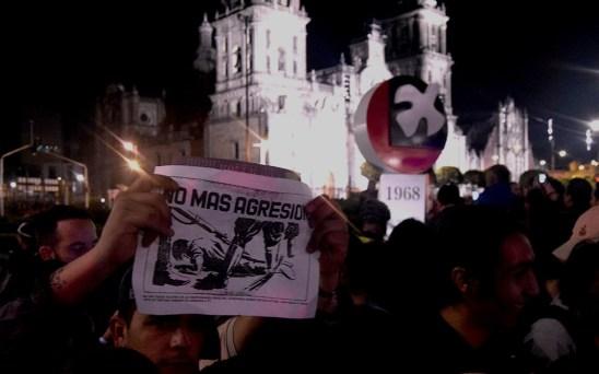 No más agresiones al pueblo Foto por Ita Ramirez