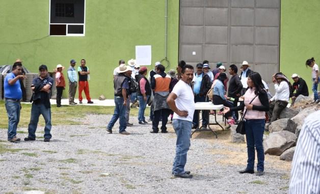 Comunidad indígena Otomí San Francisco Xochicuautla, Municipio de Lerma. Estado de México. 26 de Abril 2019. 26 de Abril 2019. Fotografía: José Luis Santillán