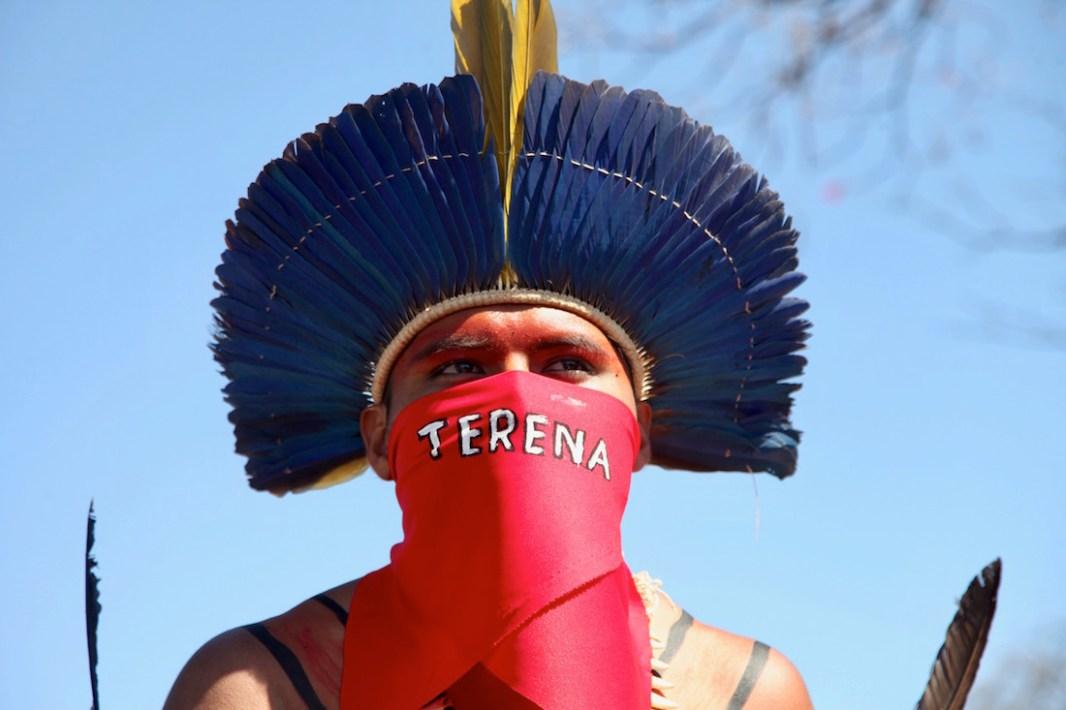 Terena resiste. Por Itandehuy Castañeda.