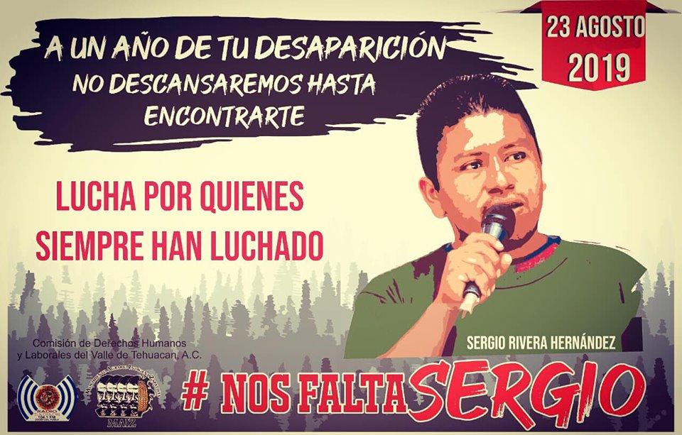 Liberan a tres detenidos por la desaparición de Sergio Rivera