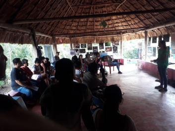 Desde el centro comunitario U Kuúchil Ch'i'iabalo'on –Raxalaj Mayab–, en Carrillo Puerto, Quintana Roo, México.