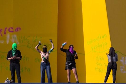Pintas en el Caballito, manifestación de nuestra rabia.
