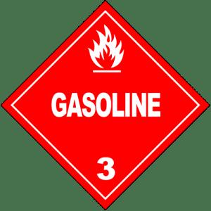 HAZMAT_Class_3_Gasoline