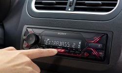 Sony DSX-A410BT - MP3 Autoradio mit Bluetooth, NFC, USB uvm.