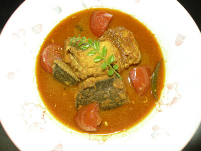 Meen Varutharachathu (Fish Curry )