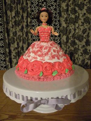 2d Princess Cake