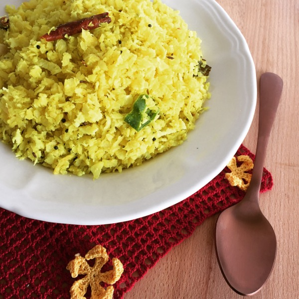 Cabbage Thoran / Kerala Style Cabbage with Coconut