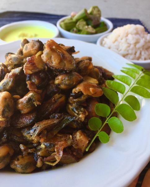 Kallumakkaya Fry / Kerala Style Mussels Fry