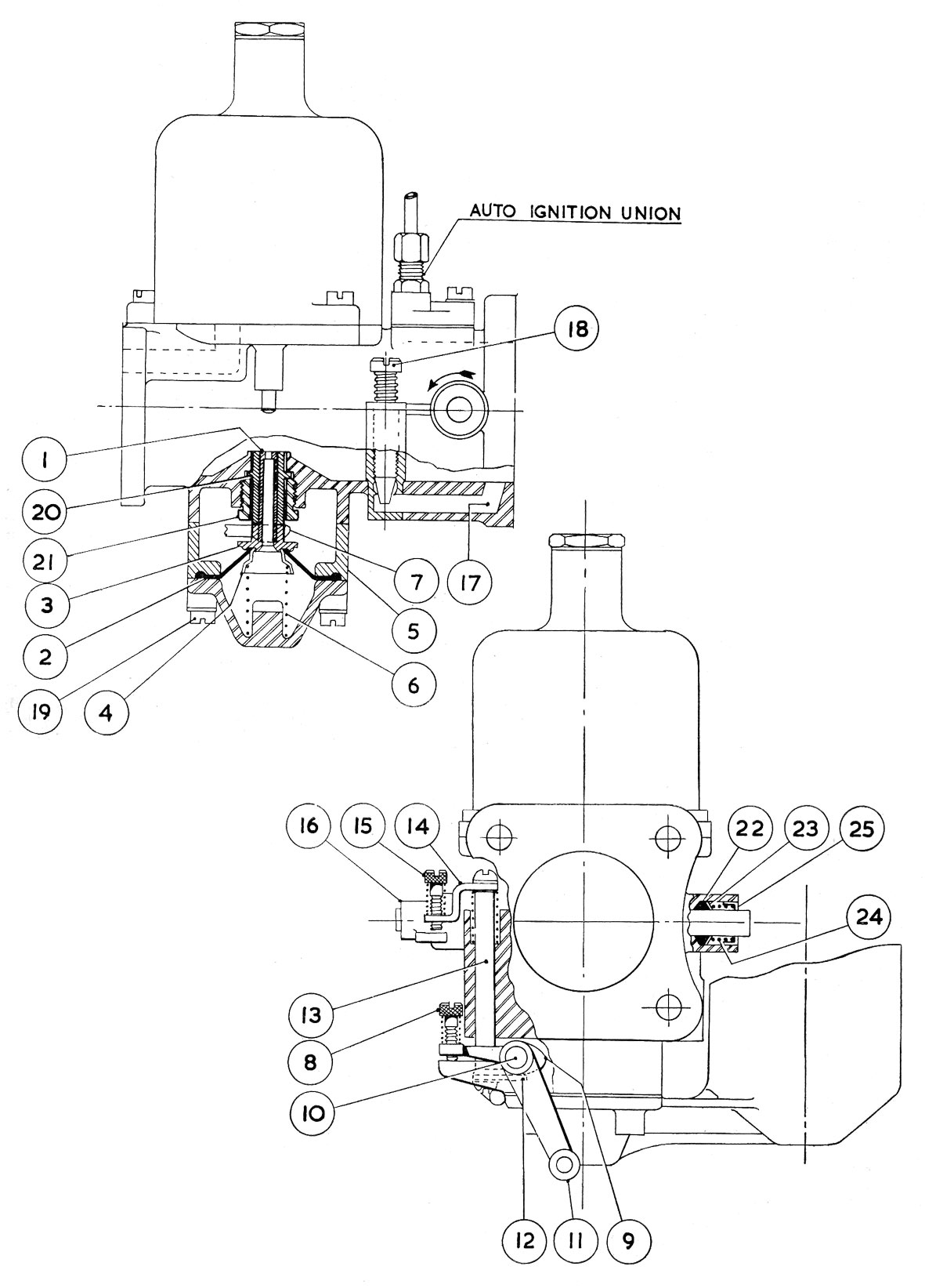 Austin Carburetor Diagram