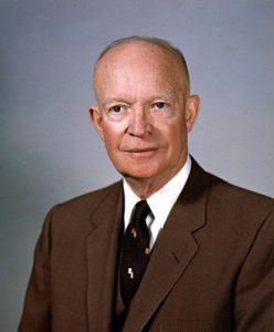 Dwight Eisenhower - 34th President of the United States and namesake of the Eisenhower Matrix for Working Smarter