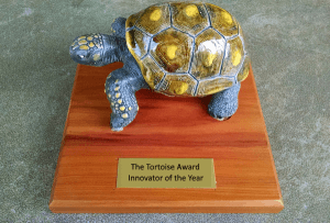 The Tortoise Award for Innovator of the Year - The benefit of a go slow to go fast approach!