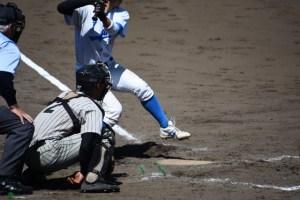 野球のキャッチャー画像