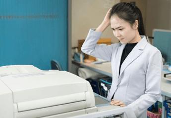 Printer tidak bisa print
