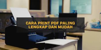 Cara Print PDF