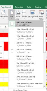 Cara Print Excel agar Tidak Terpotong
