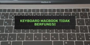 Keyboard Macbook tidak Berfungsi