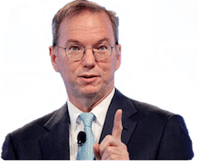 Eric Schmidt on Authorship