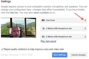 How to use CamTwist in Google Hangouts | Learn Success The Easy Way