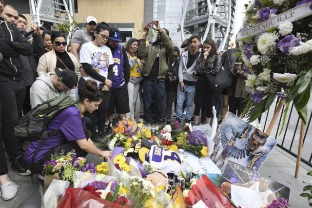 Kobe Was 'More Than An Athlete': The Sports World Mourns A Basketball Legend