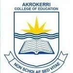 Akrokerri College of Education Admission Requirement