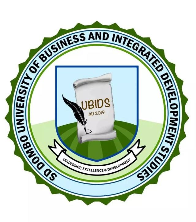 UBIDS Admission List 2020