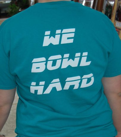 KB We Bowl Hard Shirt