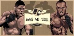 Камару Усман — Гилберт Бёрнс. Обзор. UFC 258